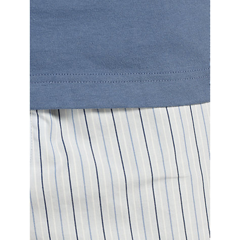 Buy John Lewis Short Sleeve Stripe Lounge Pants Online at johnlewis.com