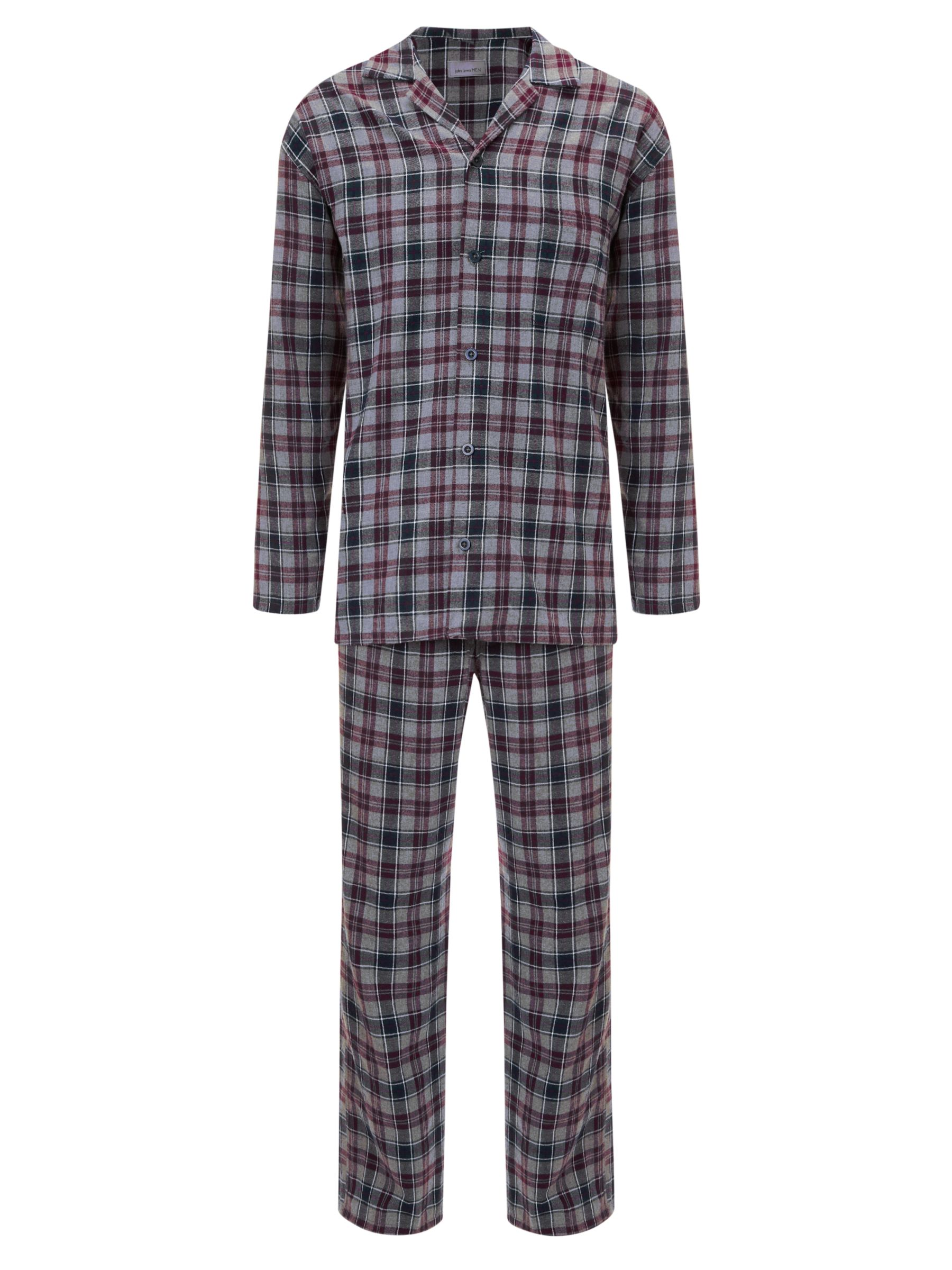 John Lewis Brushed Cotton Check Pyjamas