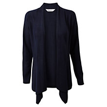 Buy East Swathe Cardigan, Navy Online at johnlewis.com