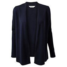 Buy East Edge-To-Edge Cardigan, Navy Online at johnlewis.com