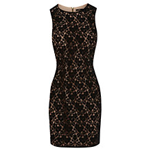 Buy Oasis Lace Shift Dress, Black Online at johnlewis.com