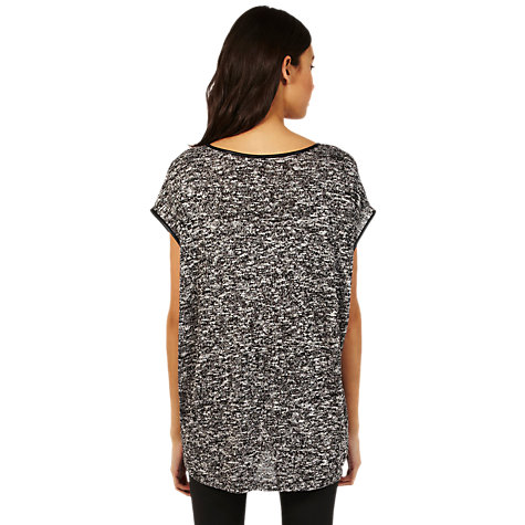 Buy Oasis Oversized T-Shirt, Mid Grey Online at johnlewis.com