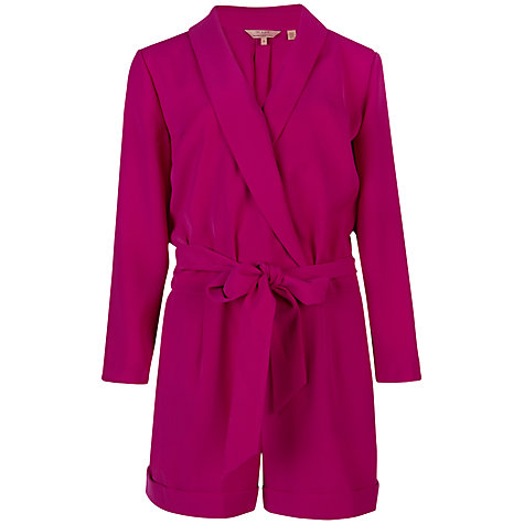 Buy Ted Baker Wrap Front Playsuit Online at johnlewis.com