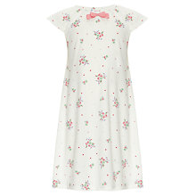 Buy John Lewis Girl Vintage Rose Nightdress, Cream Online at johnlewis.com
