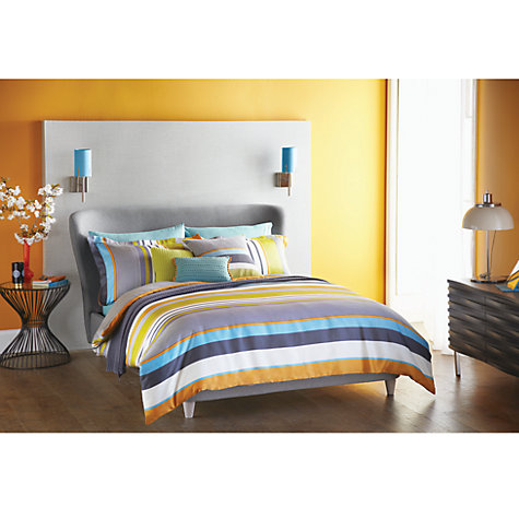 Buy Harlequin Bali Stripe Bedding Online at johnlewis.com