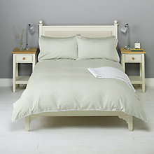 Buy John Lewis Bethany Bedding, Eau De Nil Online at johnlewis.com