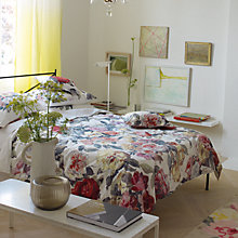 Buy Designers Guild Octavia Rose Duvet Cover Online at johnlewis.com