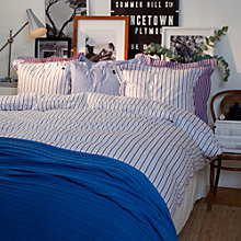 Buy Gant Sailor Stripe Duvet Cover, Blue Online at johnlewis.com