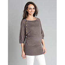 Buy Seraphine Alexia Maternity Jumper, Brown Online at johnlewis.com