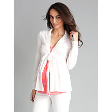 Buy Séraphine Davina Cardigan, Ivory Online at johnlewis.com