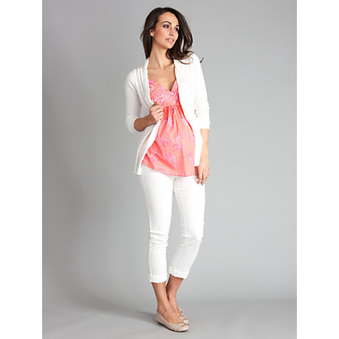 Buy Seraphine Davina Cardigan, Ivory Online at johnlewis.com