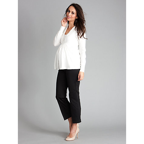 Buy Séraphine Carmen Maternity Skinny Jeans, Black Online at johnlewis.com