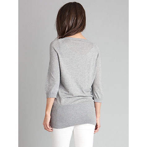 Buy Séraphine Nessa Jumper, Grey Online at johnlewis.com
