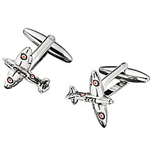 Buy John Lewis Aeroplane Cufflinks Online at johnlewis.com