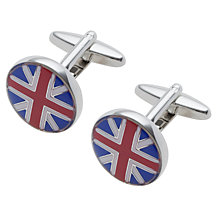 Buy John Lewis Union Jack Enamel Cufflinks Online at johnlewis.com