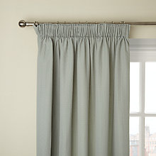 Buy John Lewis Mini Dot Pencil Pleat Lined Curtains, Eau de Nil Online at johnlewis.com