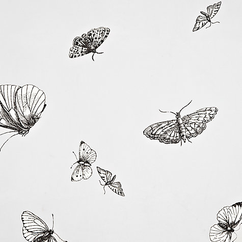 Buy John Lewis Butterflies Voile Panel Online at johnlewis.com