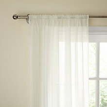 Buy John Lewis Mini Star Voile Panel Online at johnlewis.com
