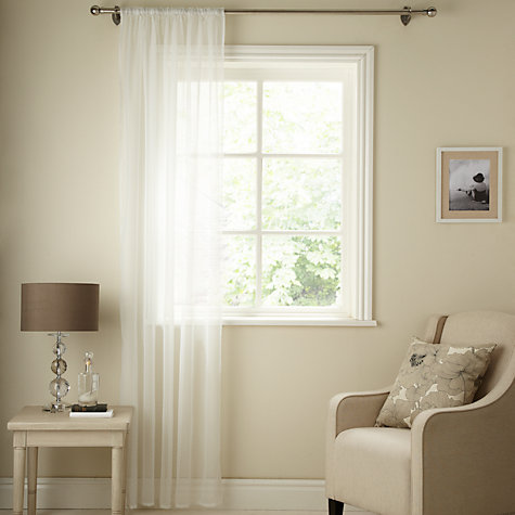 Buy John Lewis Mini Dot Voile Panel Online at johnlewis.com