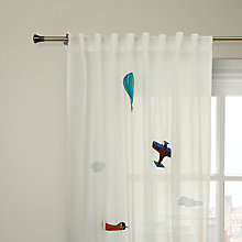 Buy John Lewis Flying Machines Voile Panel Online at johnlewis.com