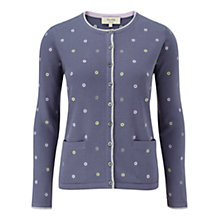 Buy Viyella Embroiderd Cardigan, Dove Online at johnlewis.com