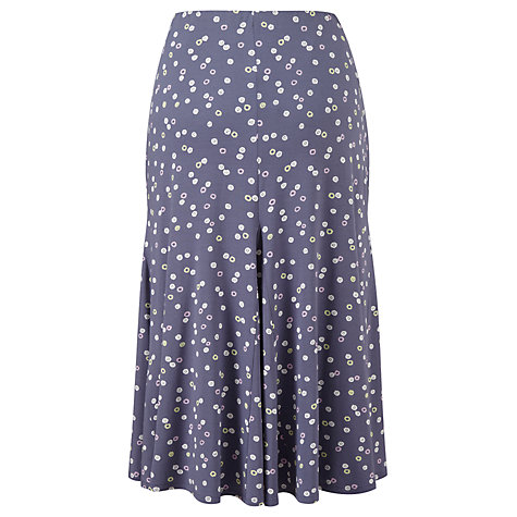 Buy Viyella Petite Pinwheel Skirt, Dove Online at johnlewis.com