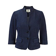 Buy Viyella Denim Tencel Jacket, Indigo Online at johnlewis.com