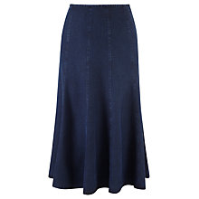 Buy Viyella Denim Tencel Skirt, Indigo Online at johnlewis.com