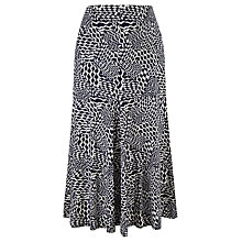 Buy Viyella Rope Print Skirt, Indigo Online at johnlewis.com