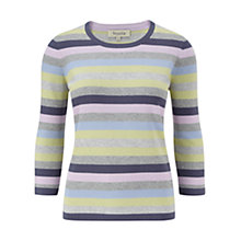 Buy Viyella Stripe Jersey Top, Multi Online at johnlewis.com