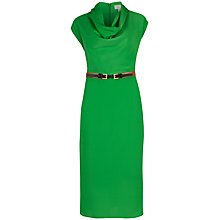 Buy Ted Baker Bigua Cowl Neck Belted Dress, Green Online at johnlewis.com