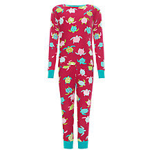 Buy Hatley Sea Turtles Pyjamas, Pink Online at johnlewis.com
