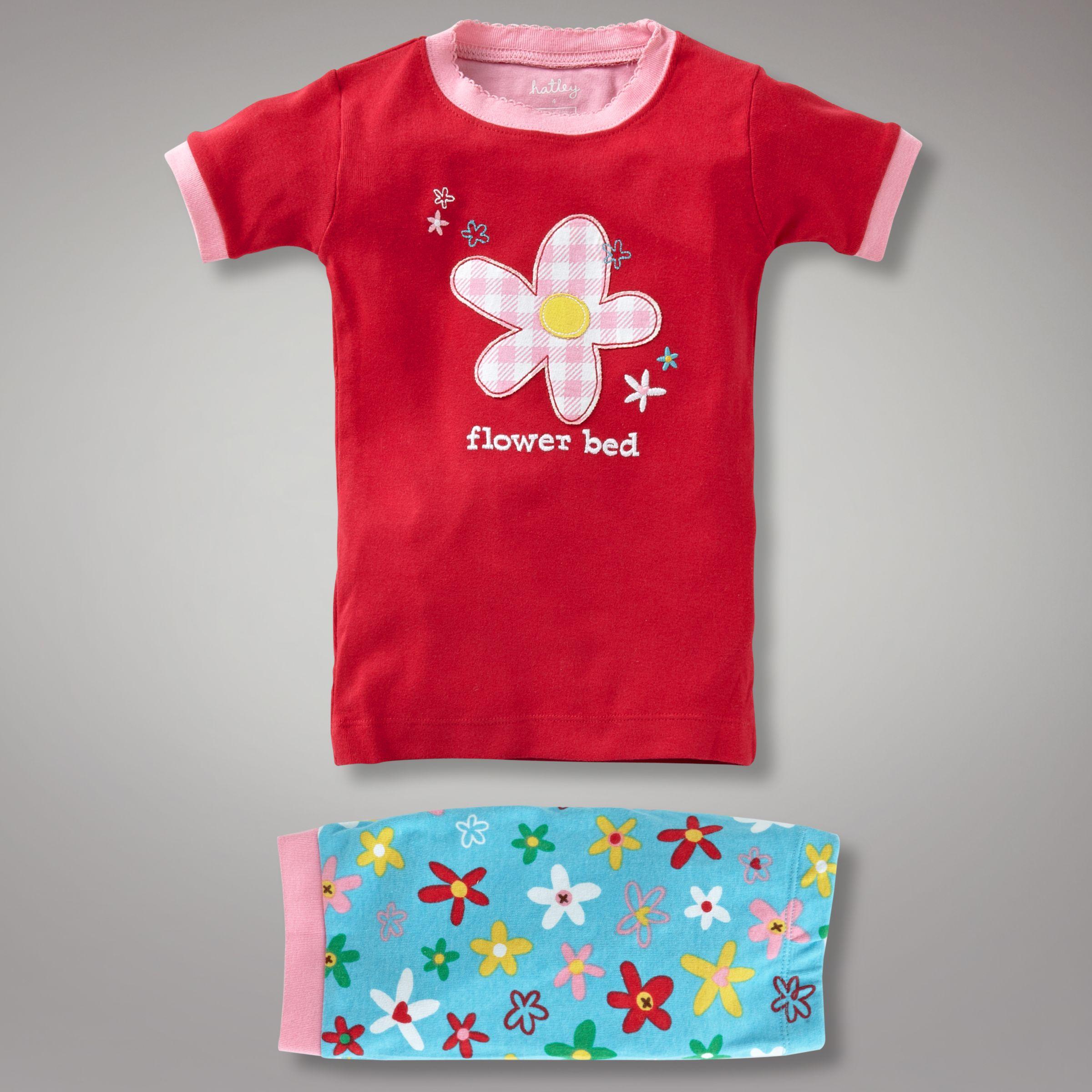Hatley Flower Bed Pyjamas, Multi