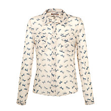 Buy Paul & Joe Sister Cavalera Horse Print Shirt, White Online at johnlewis.com