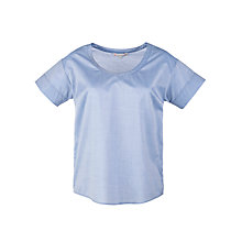Buy Paul & Joe Sister Du Jardin Chambray Top, Blue Online at johnlewis.com