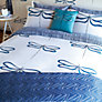 Buy Scion Dragonfly Double Duvet Cover, Indigo Online at johnlewis.com