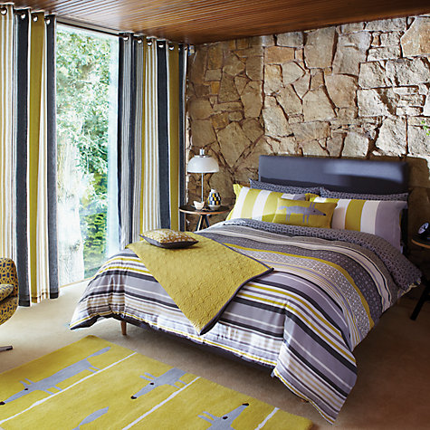 Buy Scion Lace Stripe Bedding Online at johnlewis.com