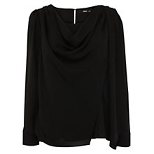 Buy Oasis Drape Cowl Neck Top Online at johnlewis.com