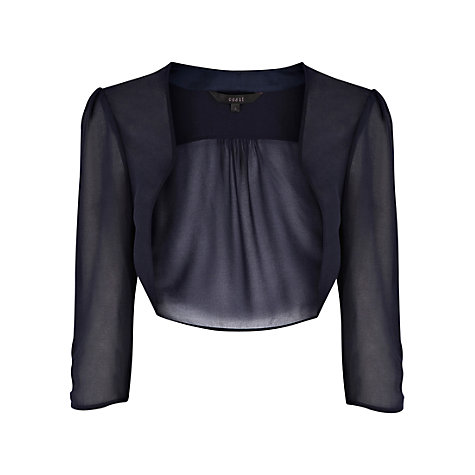 Buy Coast Ella Cover Up, Navy Online at johnlewis.com