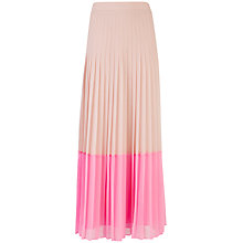 Buy Ted Baker Petrus Colour Block Maxi Skirt Online at johnlewis.com