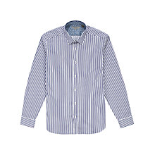 Buy Ted Baker Radfri Satin Stripe Long Sleeve Shirt Online at johnlewis.com