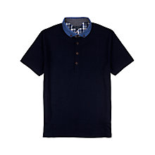 Buy Ted Baker Madatya Contrast Collar Short Sleeve Polo Shirt Online at johnlewis.com