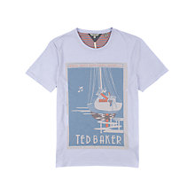 Buy Ted Baker Cruise Print Short Sleeve T-Shirt Online at johnlewis.com