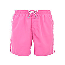 Buy Armani Jeans Logo Tape Swim Shorts Online at johnlewis.com