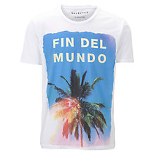 Buy Selected Homme Demise Short Sleeve T-Shirt Online at johnlewis.com