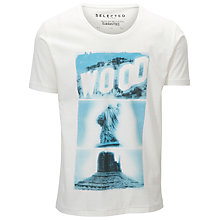 Buy Selected Homme Woods Short Sleeve T-Shirt Online at johnlewis.com