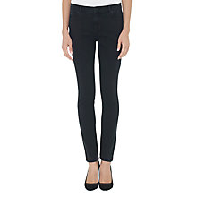 Buy Whistles New Skinny Jeans L32, Black Online at johnlewis.com