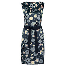 Buy Jigsaw Cloud Print Dress, Blue Online at johnlewis.com