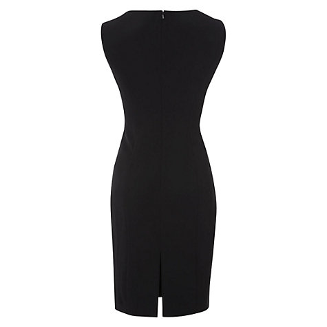 Buy Hobbs Saskia Dress, Black Online at johnlewis.com