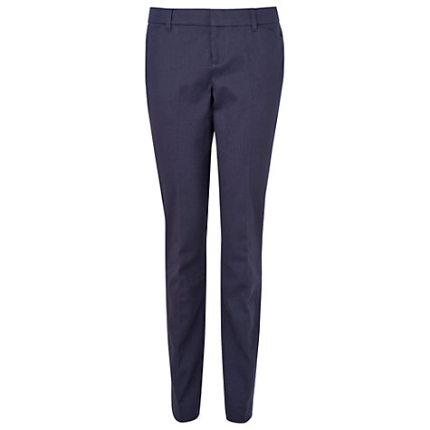 Buy Phase Eight Zahara Trousers, Navy Online at johnlewis.com